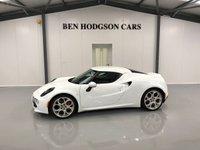 2015 ALFA ROMEO 4C 1.7 TBI 2d AUTO 240 BHP £37000.00