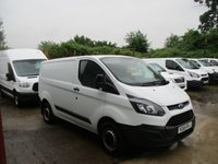 2015 FORD TRANSIT CUSTOM 2.2 290 LR P/V L1 H1 105 BHP £10450.00