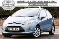 USED 2009 09 FORD FIESTA 1.4 ZETEC 16V 3d 96 BHP +++ FREE 6 months Autoguard Warranty included in screen price +++