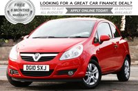 USED 2010 10 VAUXHALL CORSA 1.2 ENERGY CDTI ECOFLEX 3d 73 BHP +++ FREE 6 months Autoguard Warranty included in screen price +++