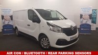 2014 RENAULT TRAFIC 1.6 SL27 BUSINESS PLUS ENERGY DCI 120 BHP with Air Con, Bluetooth, DAB Radio £SOLD