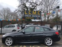 USED 2014 64 BMW 3 SERIES 3.0 335D XDRIVE M SPORT GRAN TURISMO 5d AUTO 309 BHP STUNNING SAPPHIRE BLACK METALLIC, LOVELY OYSTER LEATHER INTERIOR, FULL M SPORT BODY STYLING, SAT NAV, A/C, 18 INCH ALLOYS, BLUETOOTH, HEATED SEATS, LOW MILEAGE, BMW SERVICE HISTORY