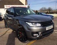 2015 LAND ROVER RANGE ROVER SPORT 3.0 SDV6 HSE DYNAMIC 5d AUTO 306 BHP £52000.00