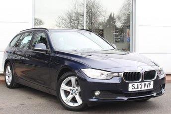 2013 BMW 3 SERIES 2.0 318D SE TOURING 5d 141 BHP £9000.00