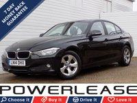 2014 BMW 3 SERIES 1.6 320I EFFICIENTDYNAMICS 4d 168 BHP £11989.00