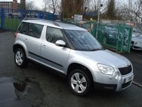 USED 2010 60 SKODA YETI 1.2 SE TSI 5d 103BHP FSH+2KEYS+PARKING SENSORS+CDC+
