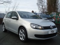 2009 VOLKSWAGEN GOLF 1.4 S 5d 79BHP 17 INCH ALLOYS £4190.00