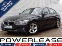USED 2013 63 BMW 3 SERIES 2.0 320D EFFICIENTDYNAMICS 4d 161 BHP 20 POUND TAX DAB PSENSORS