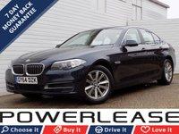 2014 BMW 5 SERIES 2.0 520D SE 4d AUTO 188 BHP £13489.00