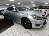 2013 MERCEDES-BENZ C CLASS C250 CDI AMG SPORT PLUS AUTO 202 BHP BLUEEFFICIENCY  £13925.00