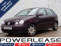 2003 VOLKSWAGEN POLO 1.4 SE 5d 74 BHP £395.00