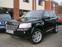 USED 2010 10 LAND ROVER FREELANDER 2.2 TD4 HSE Auto,BIG SPEC,SAT NAV,LEATHER,PAN ROOF!!!