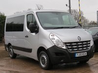 USED 2012 12 RENAULT MASTER 2.3 SL28 DCI L/R 1d 100 BHP DISABLED MOBILITY VEHICLE, REAR ELECTRIC LIFT