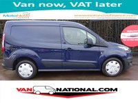 2015 FORD TRANSIT CONNECT 1.6 TDCI 200 75BHP (One owner Blazer Blue FSH)  £7890.00