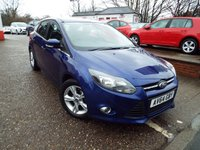 USED 2014 64 FORD FOCUS 1.6 ZETEC 5d 104 BHP ONE Owner Service History
