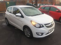 USED 2017 67 VAUXHALL VIVA 1.0 SE 5d 74 BHP EXCELLENT FUEL ECONOMY!..LOW CO2 EMISSIONS..£20 ROAD TAX...FULL HISTORY..ONLY 3157 MILES FROM NEW!!..WITH BLUETOOTH. TRACTION CONTROL, MEDIA CONNECTIVITY AND USB!