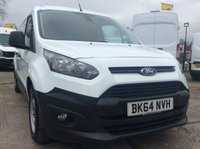 2015 FORD TRANSIT CONNECT 1.6 240 P/V 94 BHP 1 OWNER FSH NEW MOT AIR CON BLUETOOTH PDC TWIN SLD £8855.00