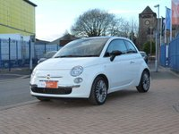 "USED 2014 64 FIAT 500 1.2 CULT 3d  FULL LEATHER ~ PANORAMIC ROOF ~ BLUE & ME ~ CLIMATE CONTROL ~ 16""ALLOYS ~ ONE OWNER ~ FULL HISTORY ~ BLUETOOTH"