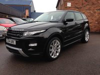 USED 2014 14 LAND ROVER RANGE ROVER EVOQUE 2.2 SD4 DYNAMIC 5d 190 BHP One owner full service history