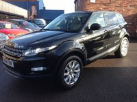 USED 2014 14 LAND ROVER RANGE ROVER EVOQUE 2.2 SD4 PURE 5d 190 BHP One owner full service history