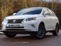 2012 LEXUS RX 3.5 450H PREMIER 5d AUTO 295 BHP £25444.00