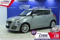 2015 SUZUKI SWIFT 1.6 SPORT 3d 134 BHP £7999.00