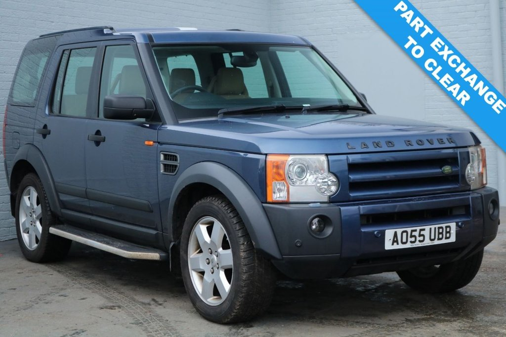 2006 55 LAND ROVER DISCOVERY 2.7 3 TDV6 HSE 5d 188 BHP