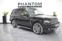 2012 LAND ROVER RANGE ROVER 4.4 TDV8 WESTMINSTER 5d AUTO 313 BHP £21990.00