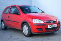 USED 2005 55 VAUXHALL CORSA 1.2 LIFE 16V TWINPORT 3d 80 BHP