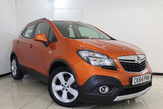 View our 2014 64 VAUXHALL MOKKA 1.6 TECH LINE S/S 5DR 113 BHP