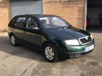 2003 SKODA FABIA 1.4 CLASSIC ESTATE ONLY 3 FORMER KEEPERS 92K 11 SERVICES  £795.00
