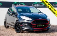 USED 2014 64 FORD FIESTA 1.0 ZETEC S BLACK EDITION 3d 139 BHP £0 DEPOSIT FINANCE AVAILABLE, BLUETOOTH CONNECTIVITY, AUX INPUT, CD PLAYER, CLIMATE CONTROL, CLOTH UPHOLSTERY, TEAM DYNAMICS WHEELS