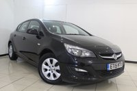 USED 2015 15 VAUXHALL ASTRA 1.6 DESIGN CDTI ECOFLEX S/S 5DR 108 BHP FULL SERVICE HISTORY + PARKING SENSOR + CRUISE CONTROL + MULTI FUNCTION WHEEL  + AUXILIARY PORT + 16 INCH ALLOY WHEELS