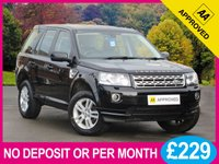2013 LAND ROVER FREELANDER 2.2 TD4 XS SAT NAV FULL LEATHER £12950.00
