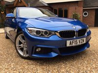 USED 2015 15 BMW 4 SERIES M SPORT AUTO 2.0 420D 2d  PROFESSIONAL MEDIA 1 OWNER FSH NEW MOT FREE 6 MONTHS AA WARRANTY SATELLITE NAVIGATION CRUISE CONTROL AIR CONDITIONING PROFESSIONAL MEDIA FRONT AND REAR PARKING SENSORS