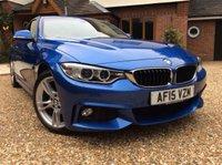 2015 BMW 4 SERIES M SPORT AUTO 2.0 420D 2d  PROFESSIONAL MEDIA 1 OWNER FSH NEW MOT £18000.00