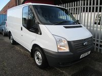 2013 FORD TRANSIT 260 SWB Low roof 100 PS *57000 MILES* £7350.00