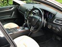 USED 2015 15 MASERATI GHIBLI 3.0 TD V6 (s/s) 4dr SAT NAV+HSEATS+FMSH+IVORY LTH