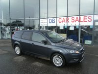 USED 2011 60 FORD FOCUS 1.6 TITANIUM TDCI 5d 109 BHP FREE 6 MONTHS RAC WARRANTY AND FREE 12 MONTHS RAC BREAKDOWN COVER