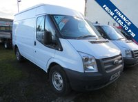 USED 2012 12 FORD TRANSIT 100T 350 MWB MEDIUM ROOF VAN WITH STOP-START SYSTEM ONE CO. OWNER - LOW MILEAGE