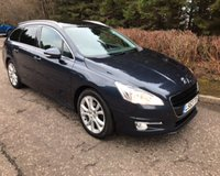 USED 2013 63 PEUGEOT 508 SW 1.6 HDI SW ACTIVE NAVIGATION VERSION 5d 112 BHP 6 MONTHS PARTS+ LABOUR WARRANTY+AA COVER