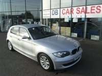 USED 2007 07 BMW 1 SERIES 1.6 116I ES 5d 114 BHP FREE 6 MONTHS RAC WARRANTY AND FREE 12 MONTHS RAC BREAKDOWN COVER