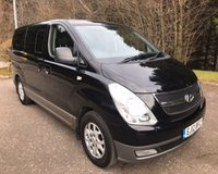 USED 2012 12 HYUNDAI I800 2.5 STYLE CRDI 5d AUTO 168 BHP 8 SEATS 6 MONTHS PARTS+ LABOUR WARRANTY+AA COVER