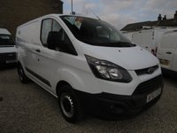 2013 FORD TRANSIT CUSTOM 270 ECO-TECH 100PS L1 H1 VAN WITH PARK SENSORS £9695.00
