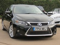 2014 LEXUS CT 1.8 200H ADVANCE 5d AUTO 134 BHP £11490.00