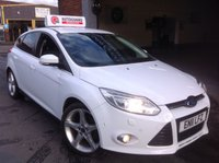USED 2011 11 FORD FOCUS 1.6 TITANIUM X TDCI  Leather Interior.......Satnav