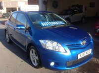 2010 TOYOTA AURIS 1.6 TR VALVEMATIC MM  AUTOMATIC £5995.00