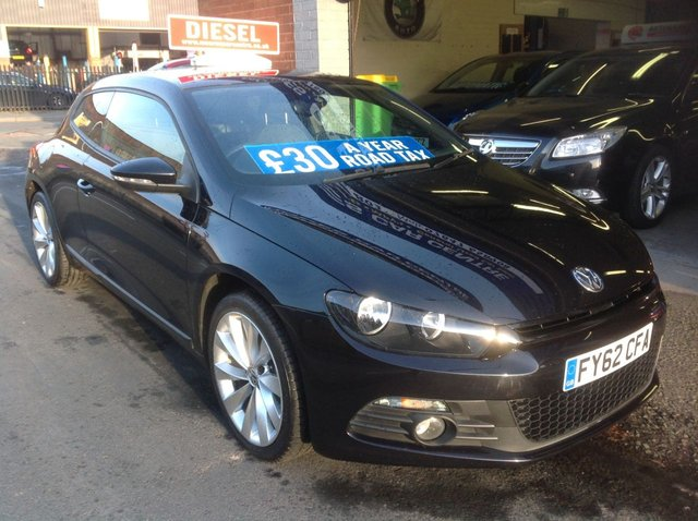 2012 62 VOLKSWAGEN SCIROCCO 2.0 GT TDI BLUEMOTION TECHNOLOGY