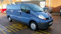 2007 RENAULT TRAFIC 2.0 LL29 DCI 115 LWB LC 1d 115 BHP 1 OWNER F/S/H 2 KEYS  FREE 12 MONTHS WARRANTY COVER // £2990.00