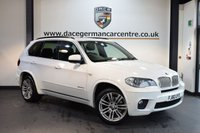 USED 2010 60 BMW X5 3.0 XDRIVE40D M SPORT 5DR AUTO 302 BHP + FULL BLACK LEATHER INTERIOR + PRO SATELLITE NAVIGATION + FULL PANORAMIC ROOF + BMW SERVICE HISTORY + XENON LIGHTS + HEATED FRONT/REAR SPORT SEATS + BLUETOOTH + CRUISE CONTROL + DAB RADIO + RAIN SENSORS + PARKING SENSORS + 20 INCH ALLOY WHEELS +